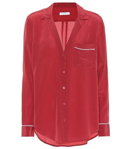 Kiera silk pajama shirt