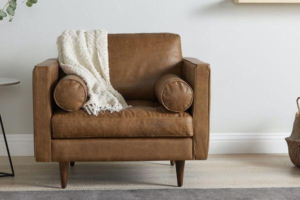 Joybird Briar Leather Chair