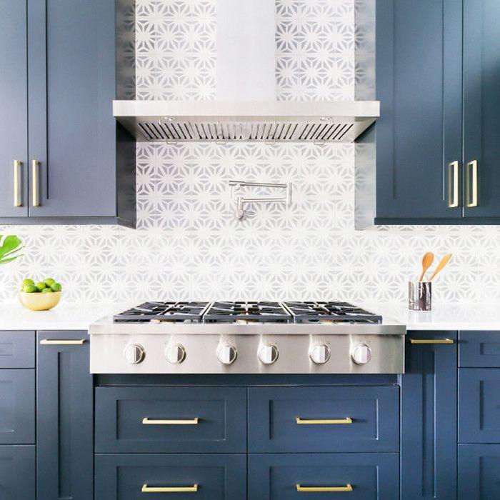 tiled kitchen
