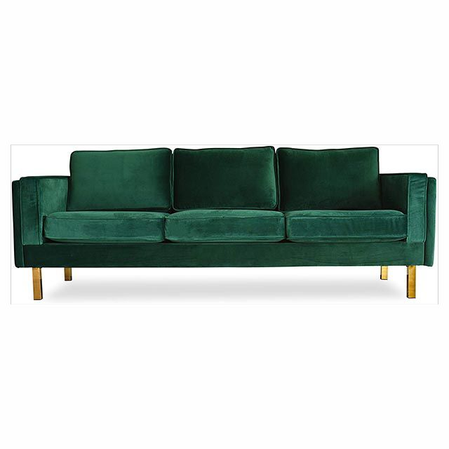 The 9 Green Velvet Sofas We All