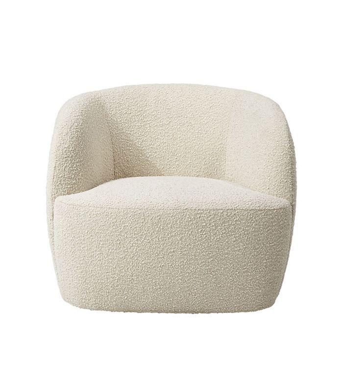CB2 Gwyneth Boucle Chair