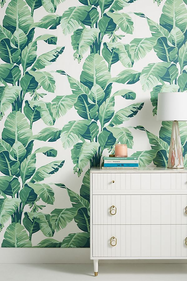 Anthropologie Pacifico Palm Wallpaper