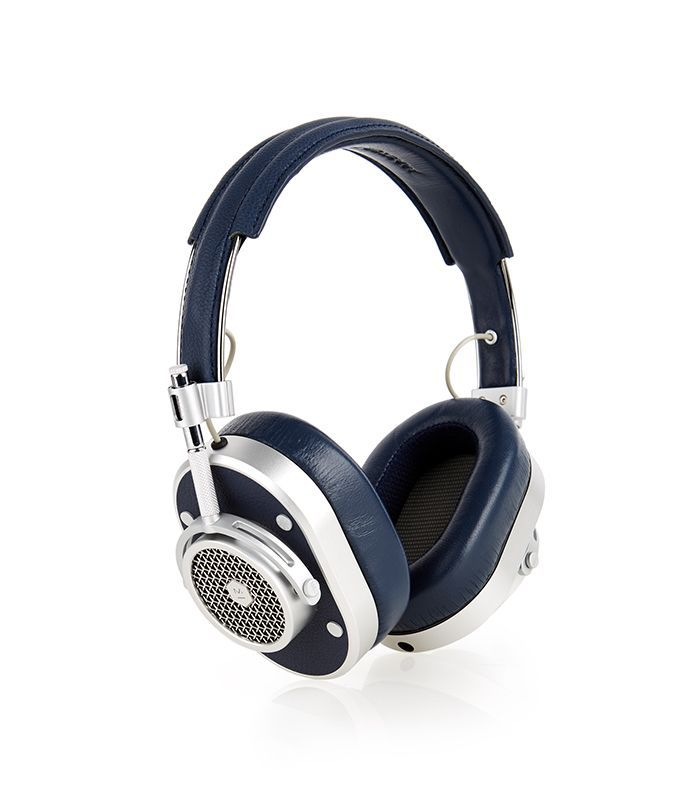 MH40 leather on-ear headphones