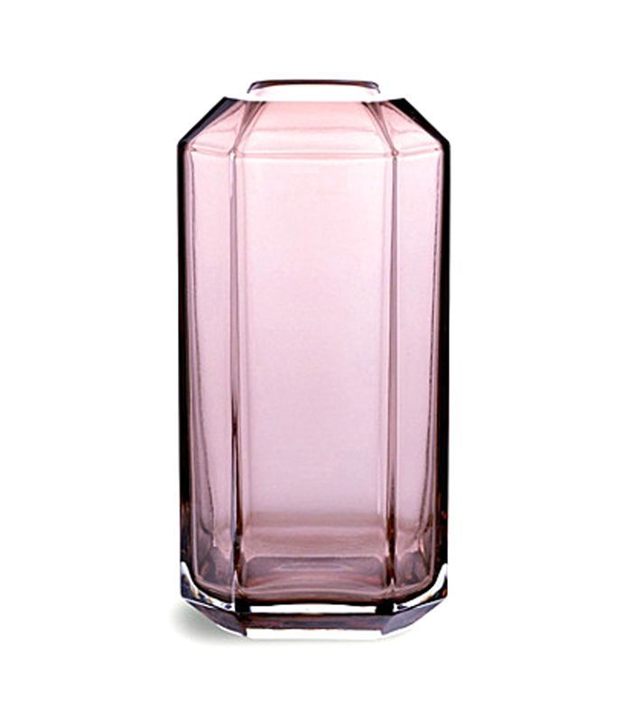 Jewel glass vase 16cm