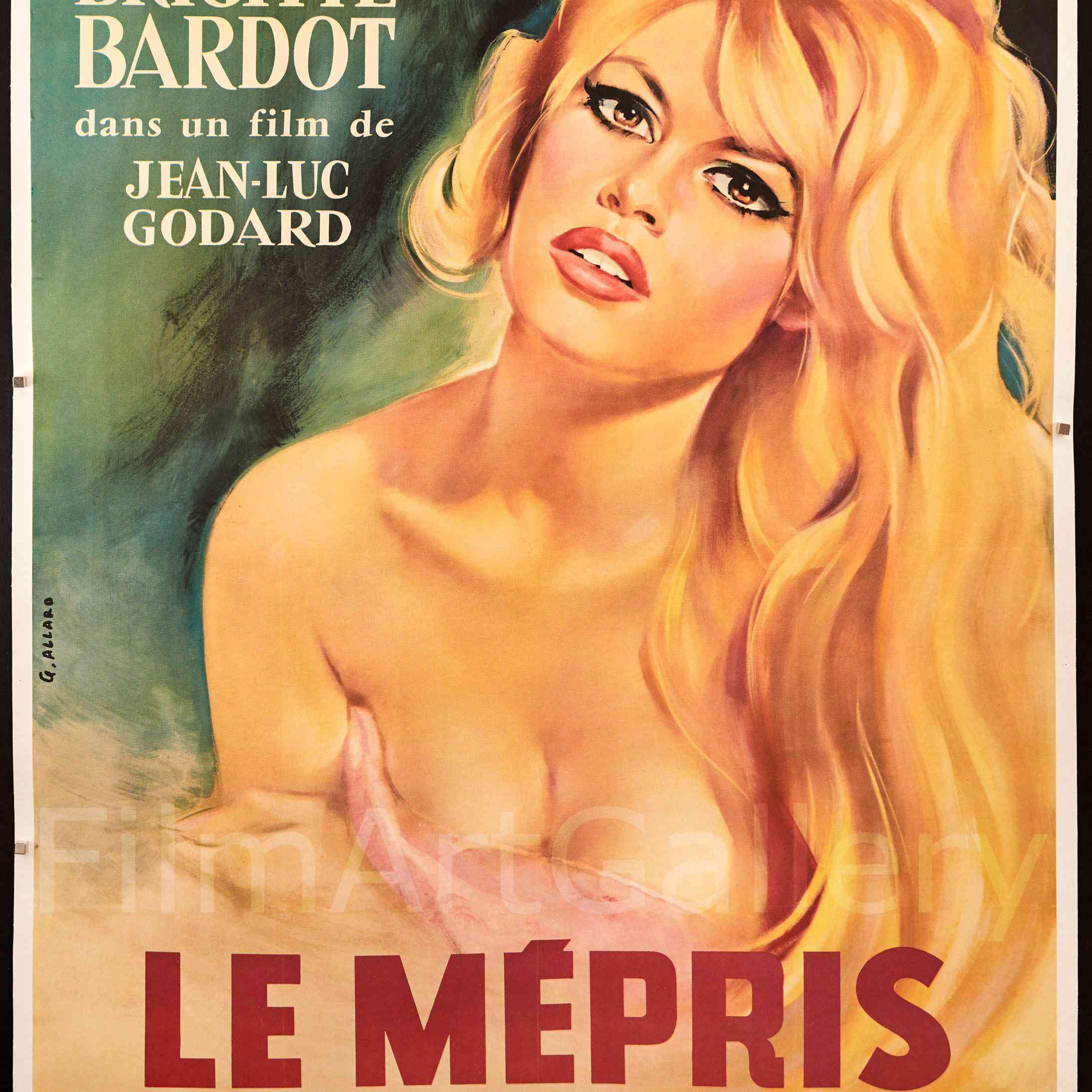 Contempt (1963) poster.