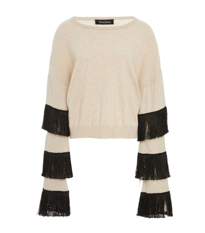 Kahina Fringe Sweater