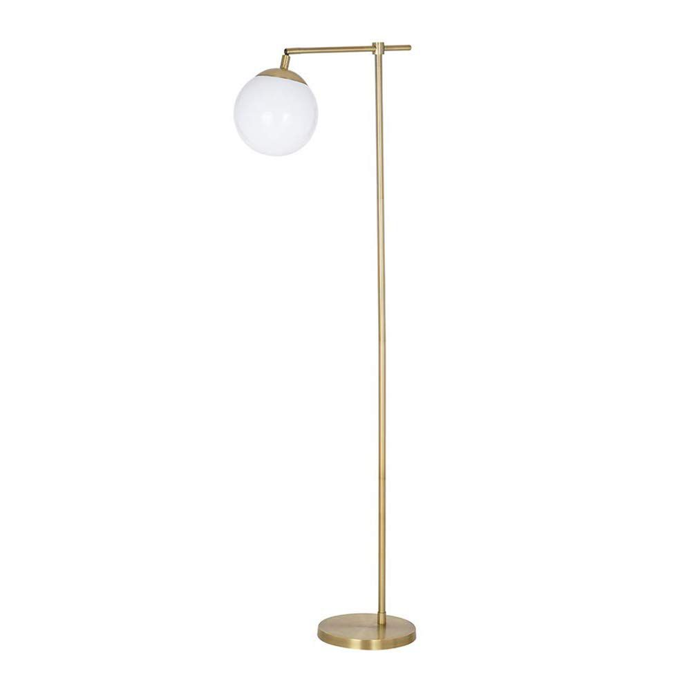 Modern Gold Globe Floor Lamp