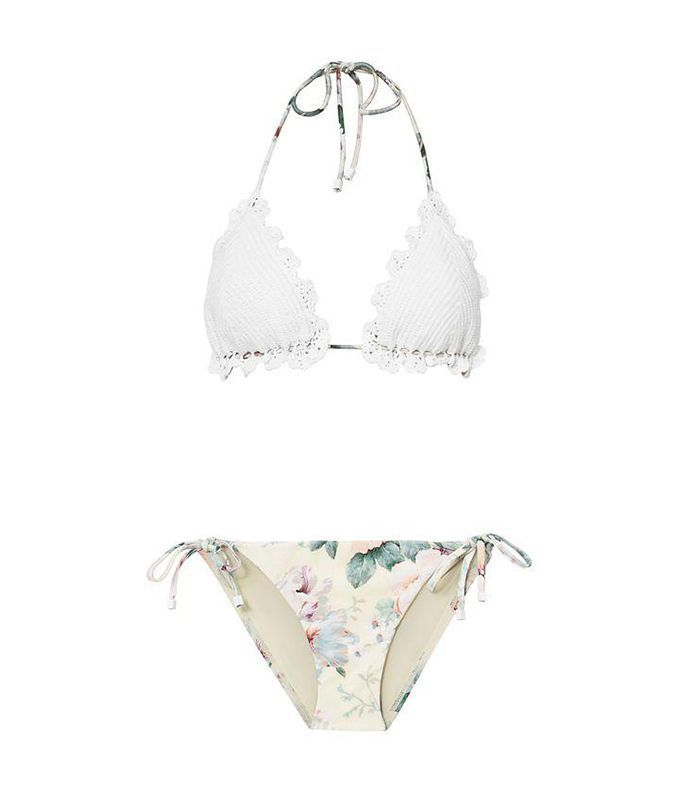 Jasper Crochet Triangle Bikini