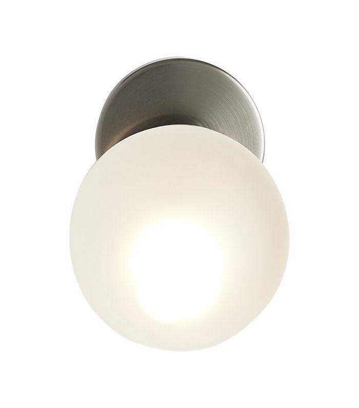 vega bath 1 bulb black nickel wall sconce