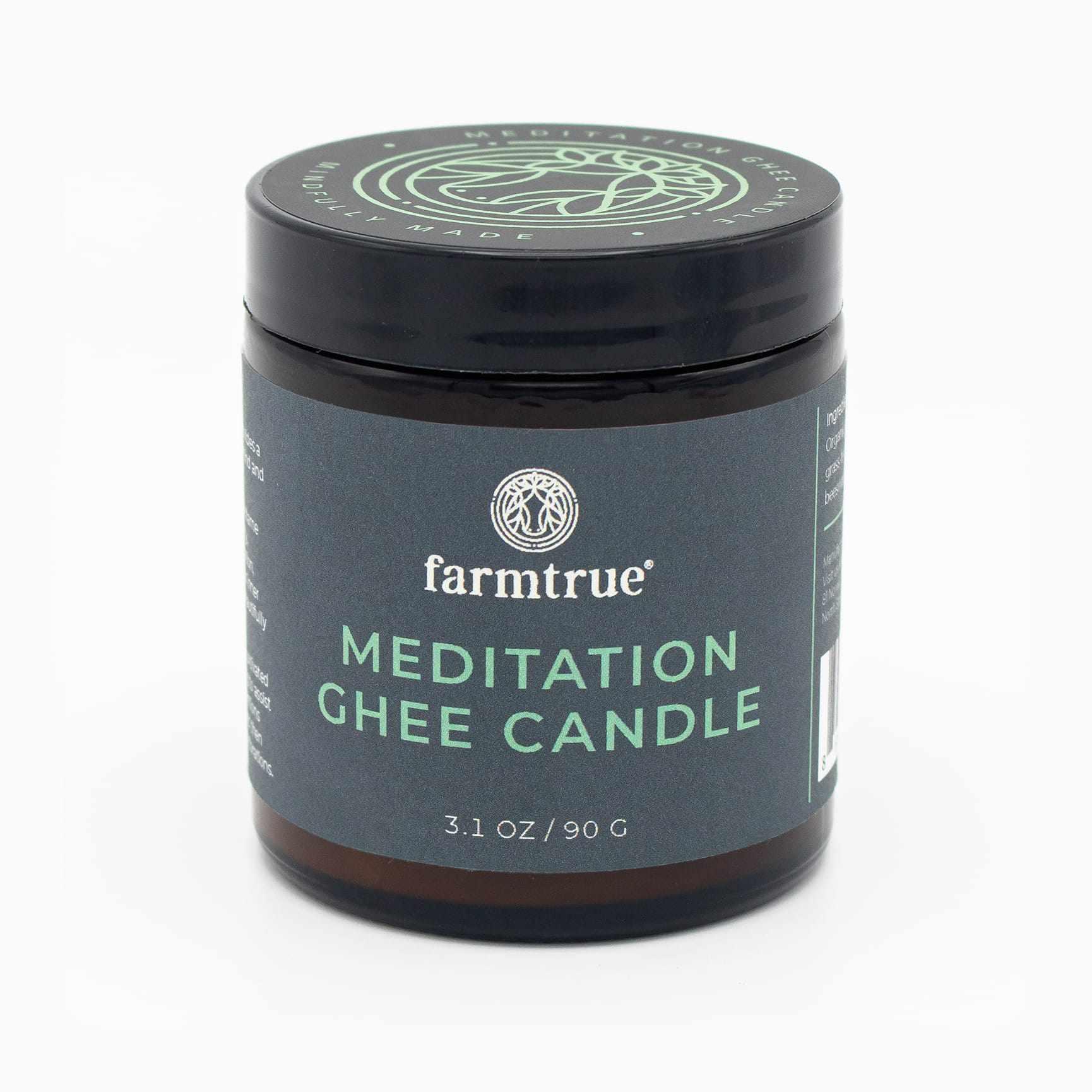 Farmtrue Meditation Ghee Candle