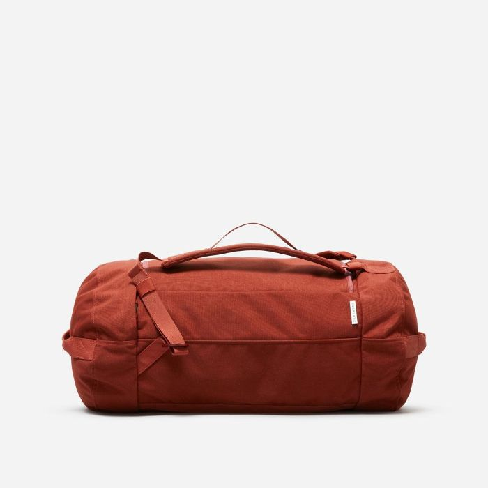 Travel Duffel Bag by Everlane in Brick