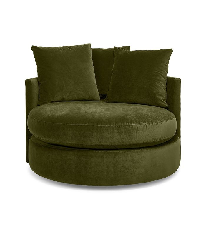 Shelter Round Swivel Chair