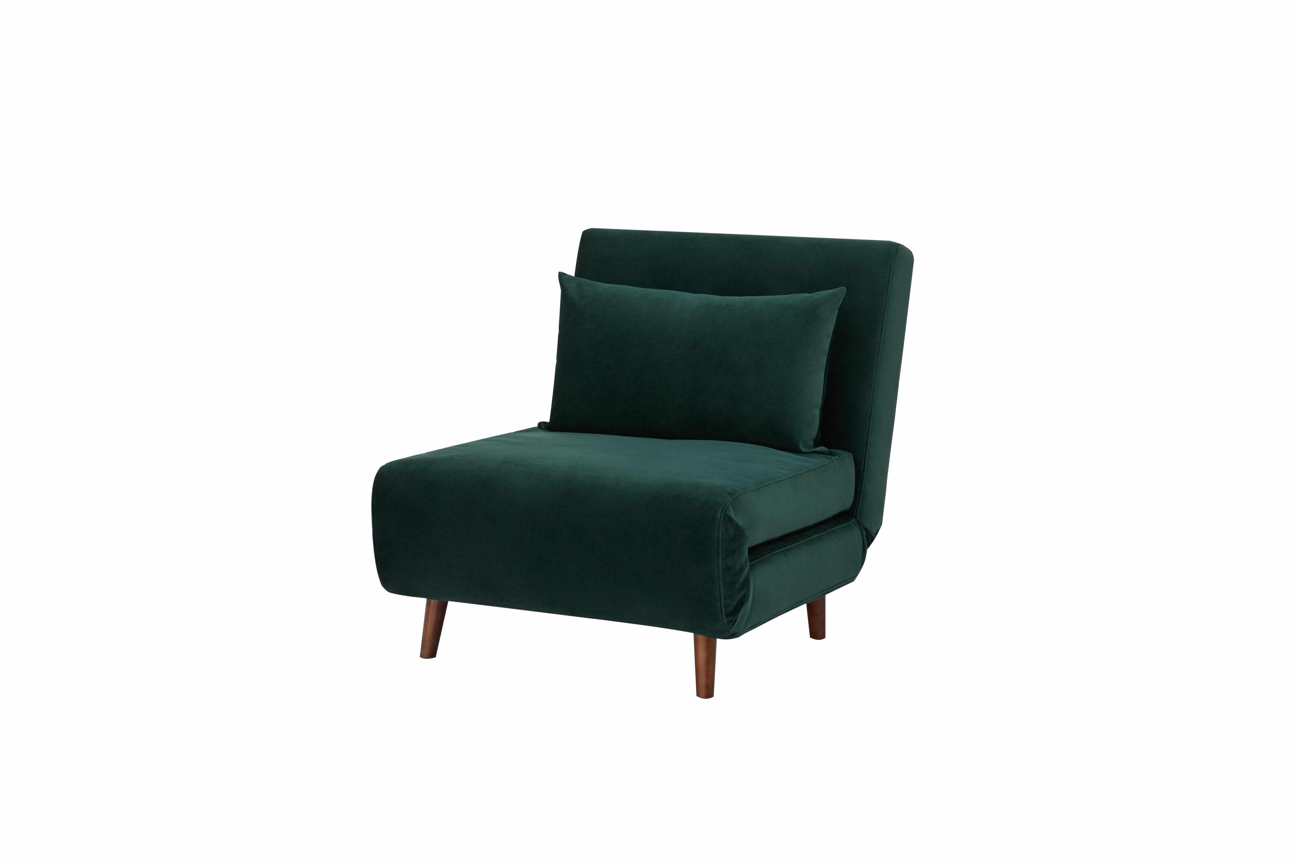 walmart green velvet chair mydom