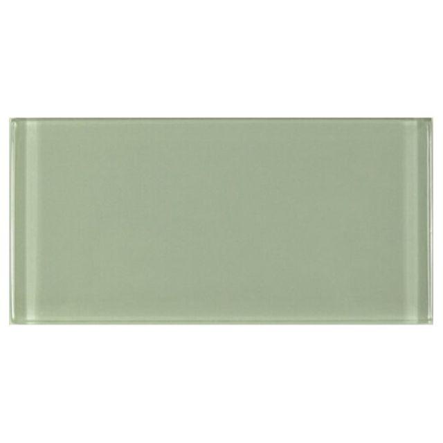 azulejo verde de cáscara y palo