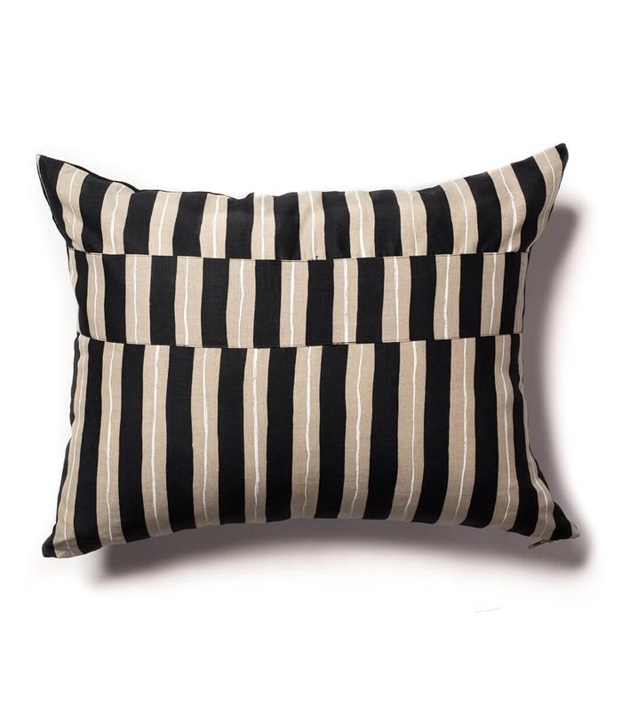 Rebecca Atwood Reversible Painted Stripe Pillow