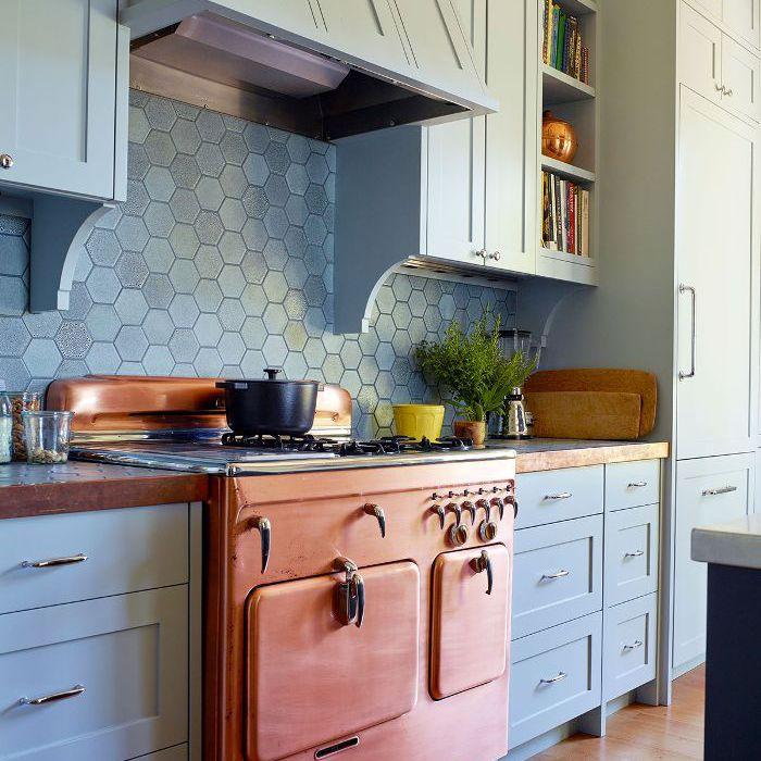 Kitchen backsplash tile design