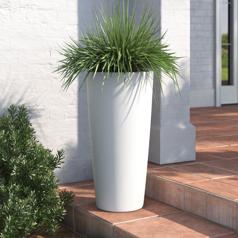 Joss & Main Sheley Fiberglass Pot Planter