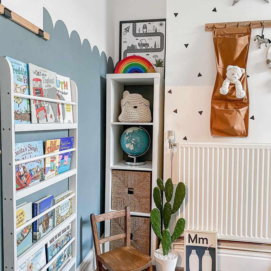 Corner of boys' bedroom