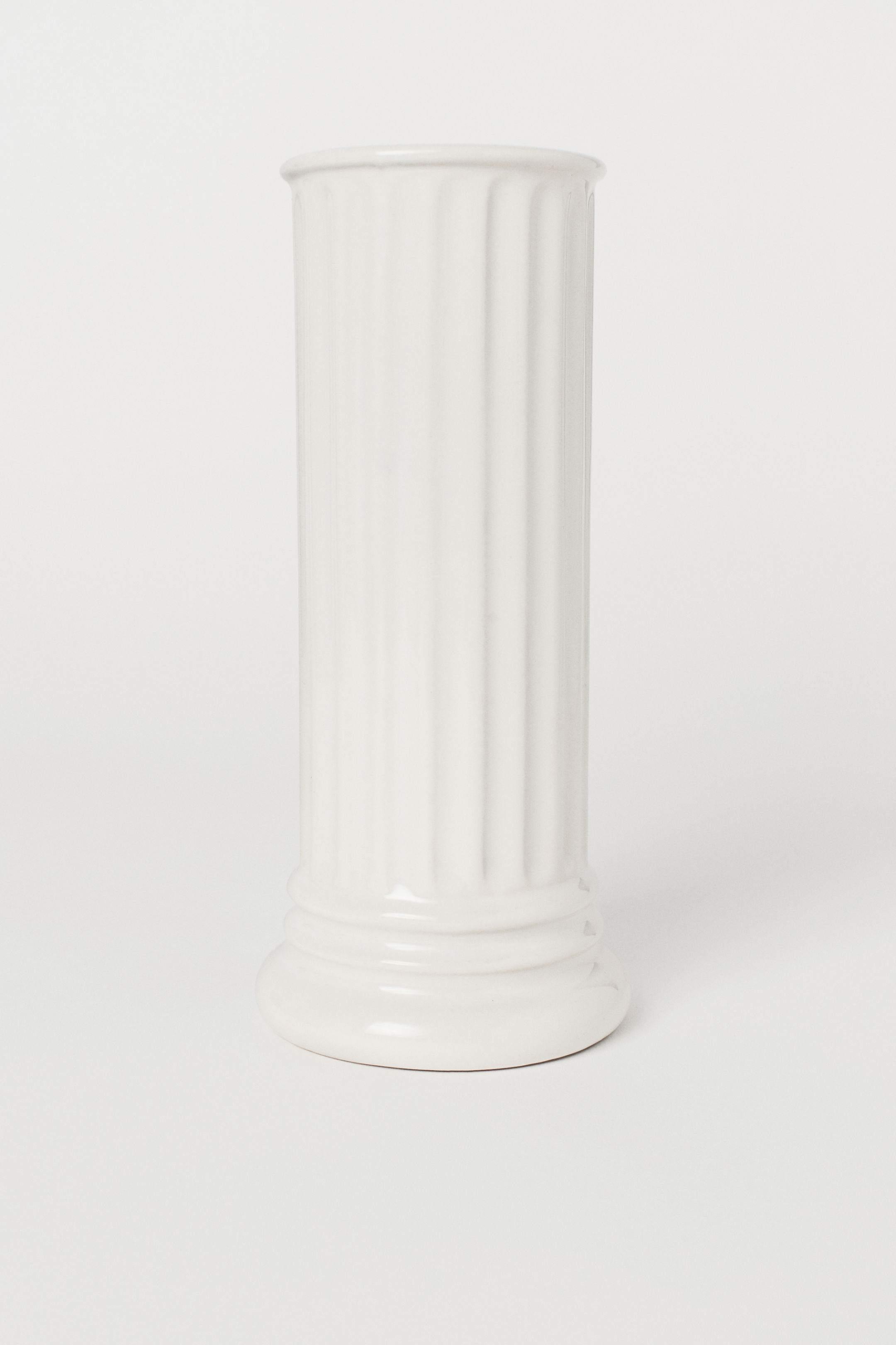 H&M Home stoneware vase