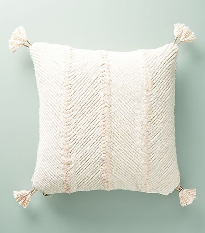 Embroidered Wilma Pillow