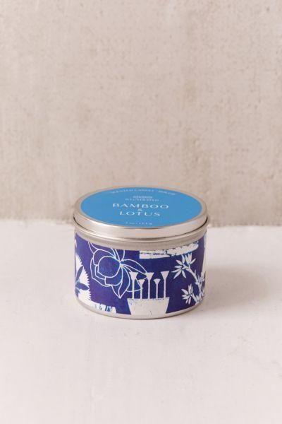 Artist Print Tin Candle - Blue One Size at Urban Outfitters