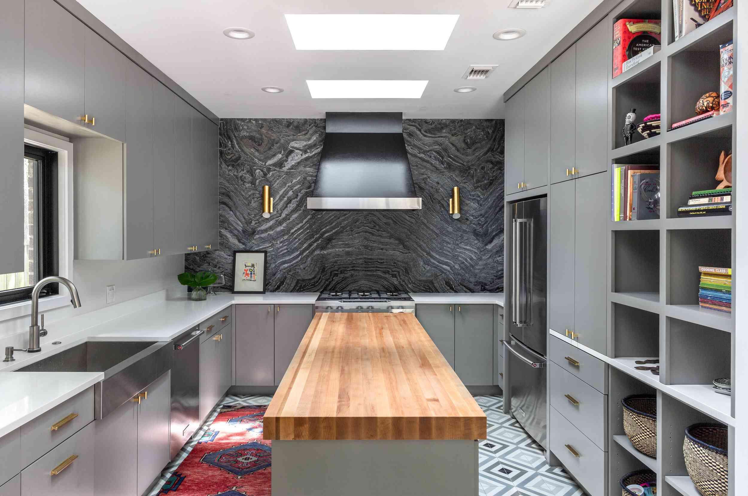 best kitchen ideas - butcher block tabletop