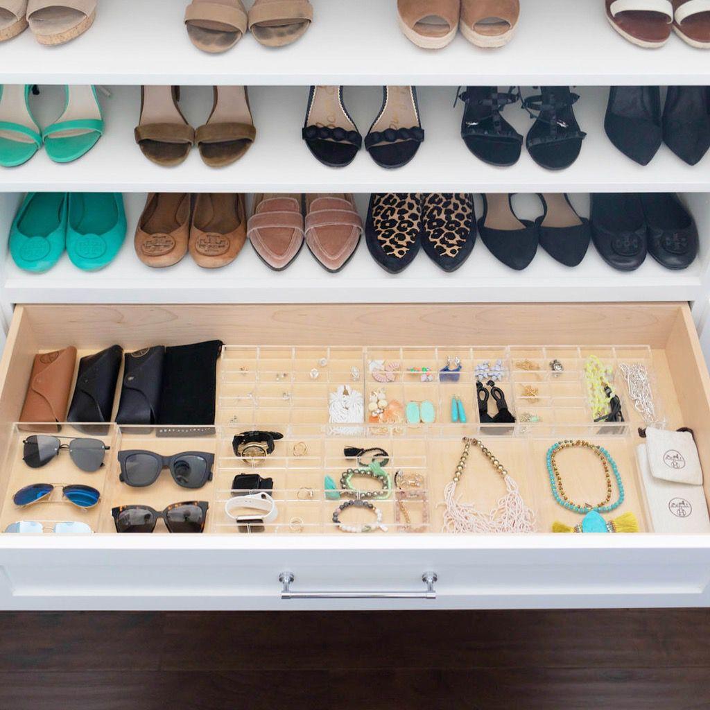 jewelry storage in a drawer
