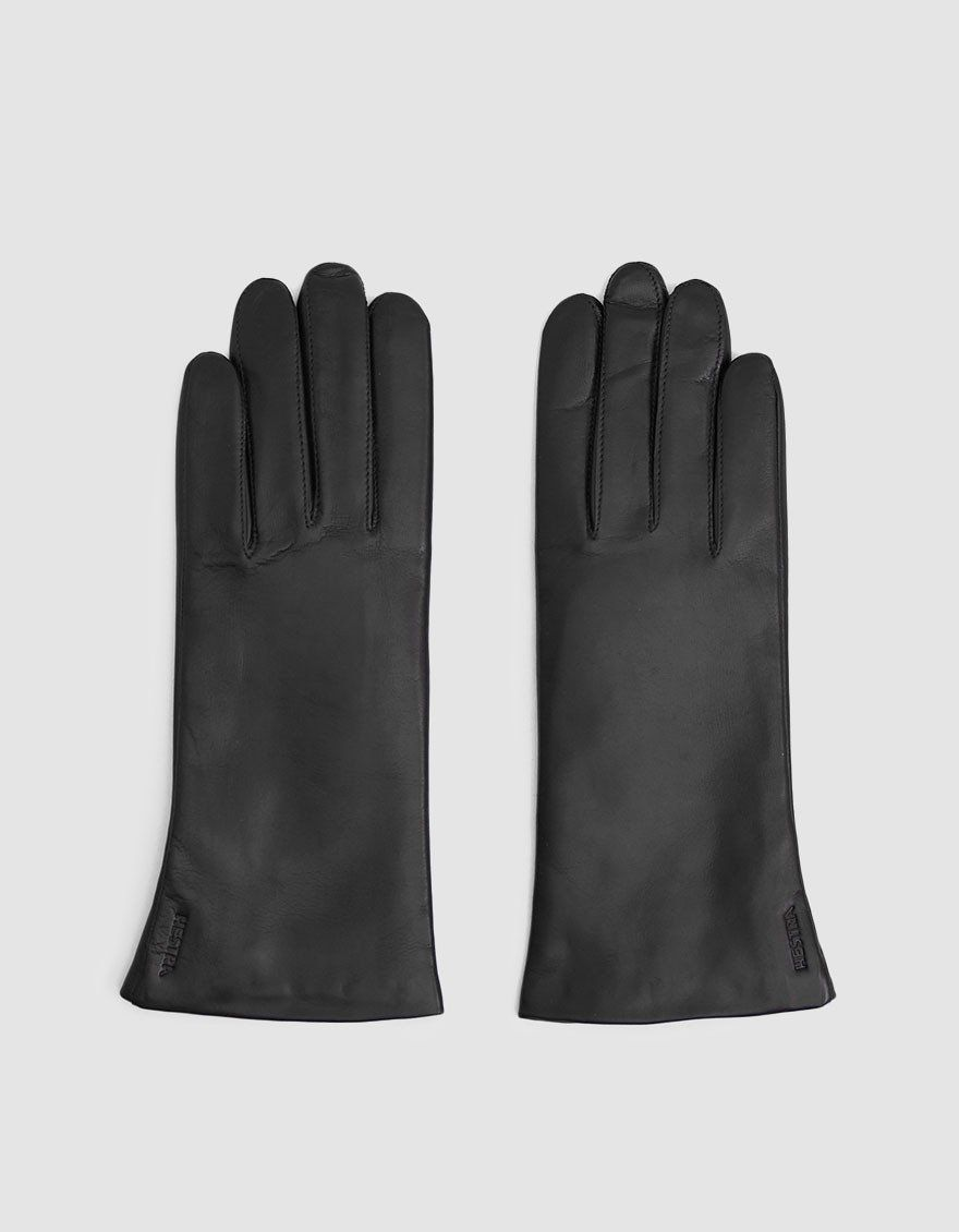 Elisabeth Leather Glove in Black