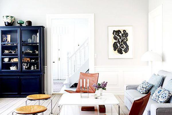 Scandinavian living area design ideas