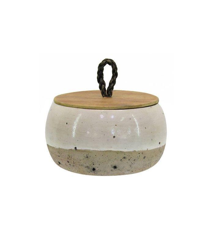 Target Short Lidded Vase