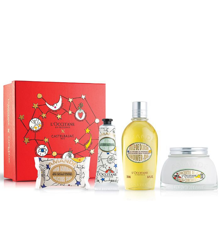 christmas gifts for friends: L'Occitane Irresistible Almond Collection