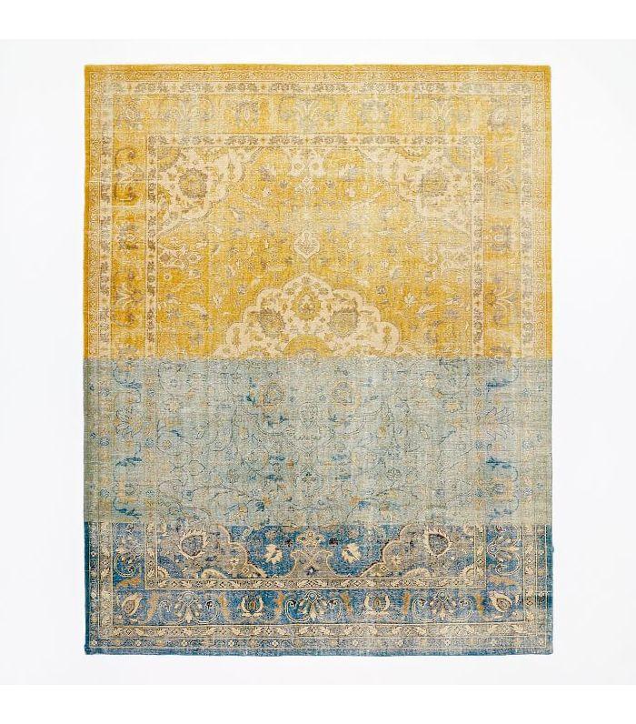 Colorblock Persian Rug