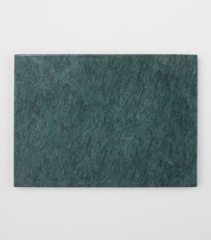 - Marble Cutting Board - Dark green/marbled - H & m Home