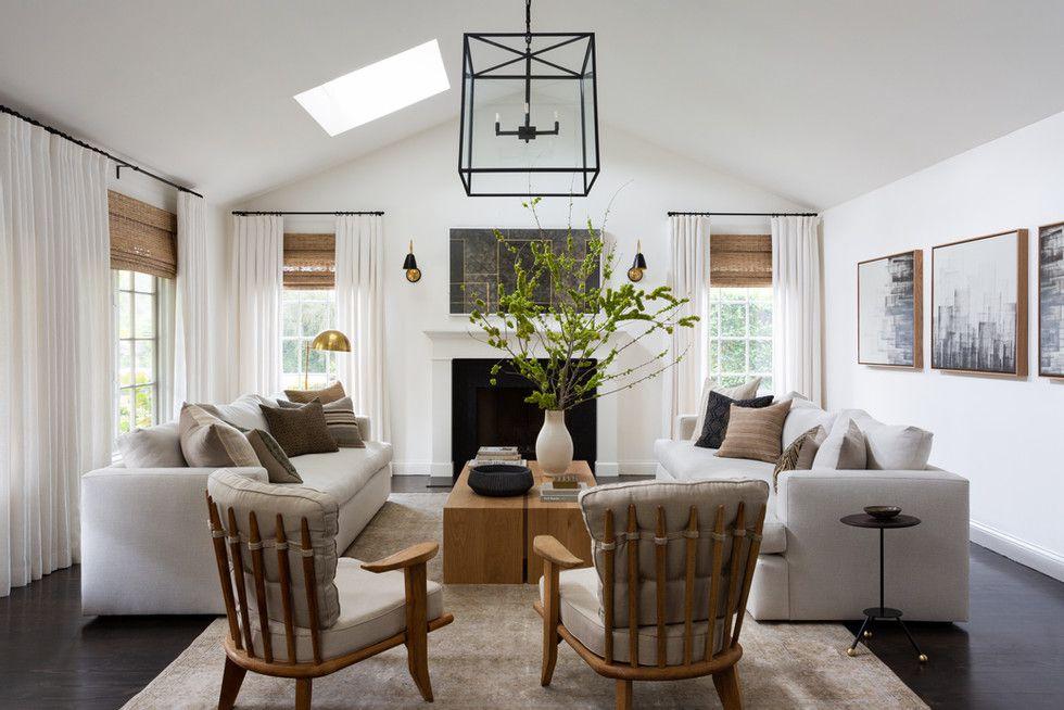 Neutral modern living room.