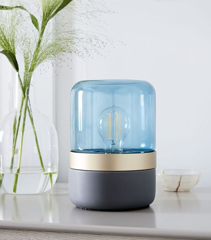 Mixed Material Table Lamp