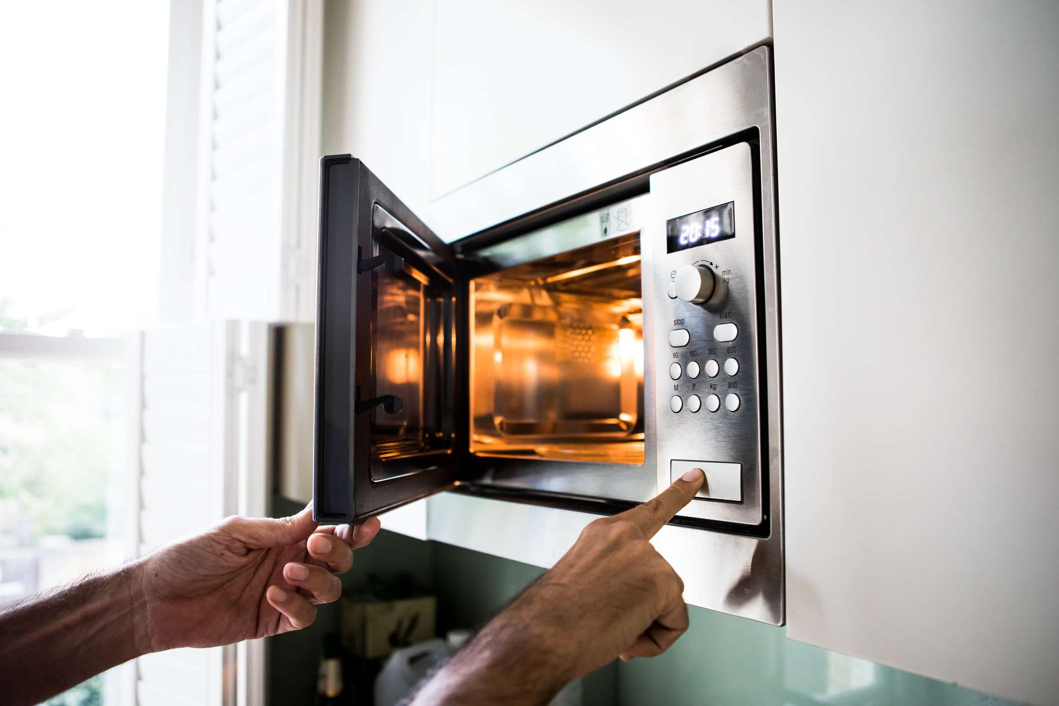 open microwave