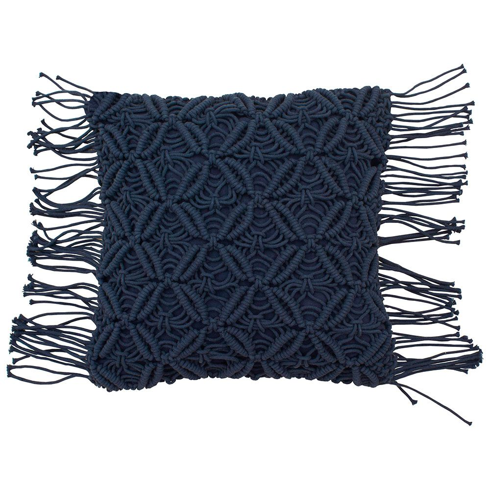 Avery Macramé Pillow