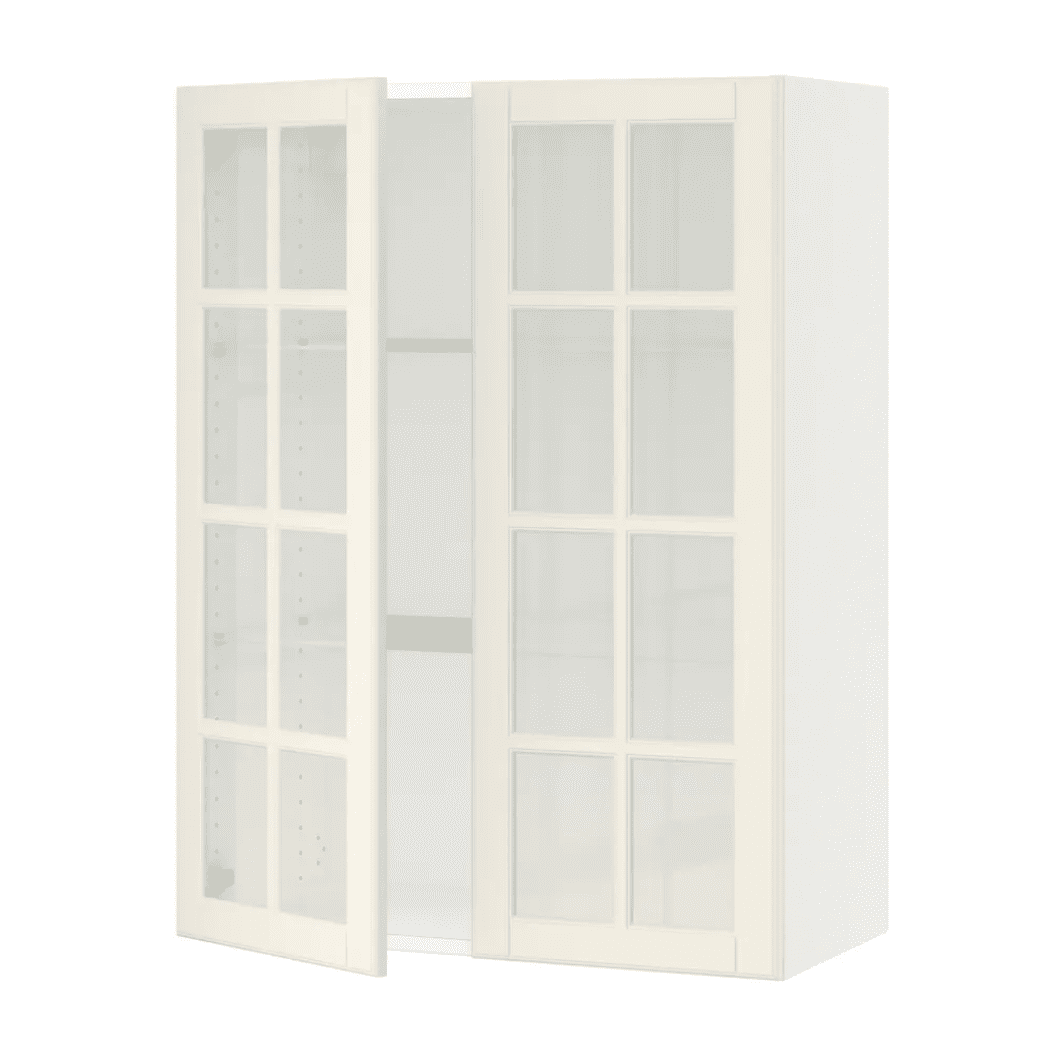 A white kitchen cabinet currently for sale at IKEA