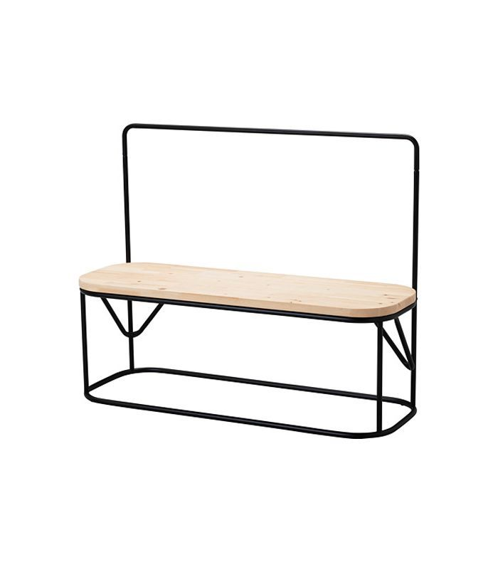 Ikea Hjartelig Bench With Clothes Rack 79
