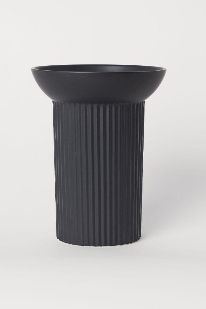H&M Large Stoneware Vase
