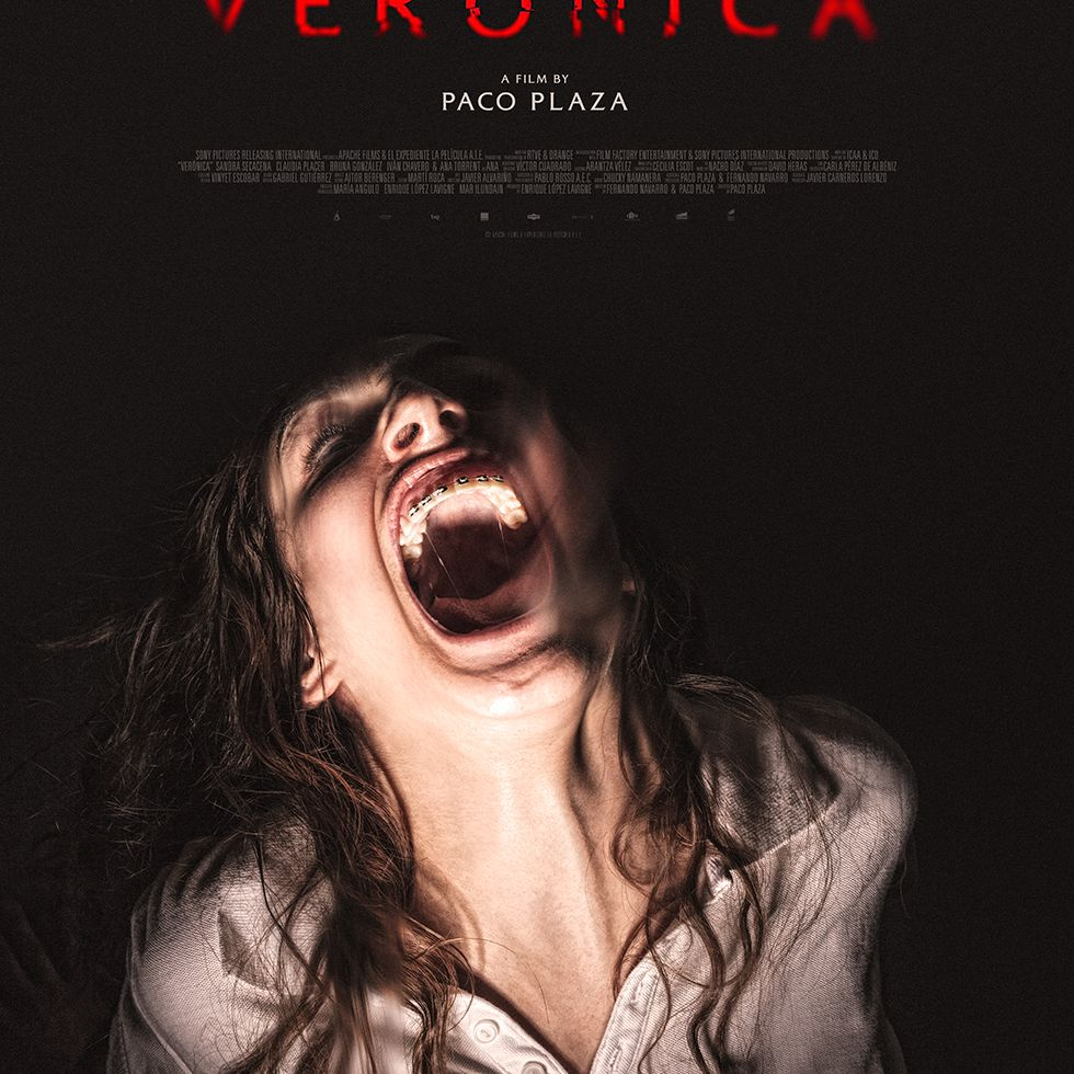 The foreign horror film, Verónica.
