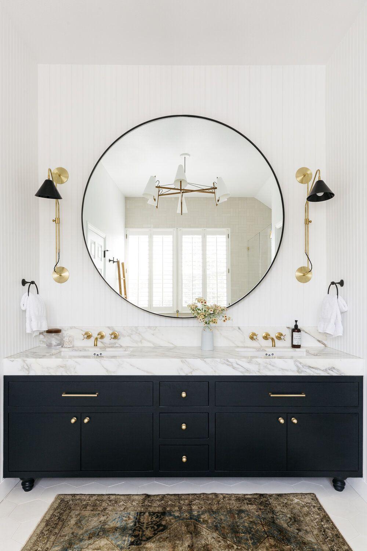 23 Stylish Bathroom Backsplash Ideas, Bathroom Tile Backsplash Ideas