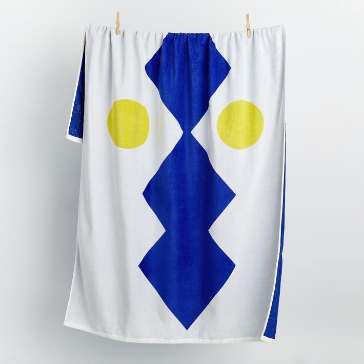 Reflejos Beach Towel