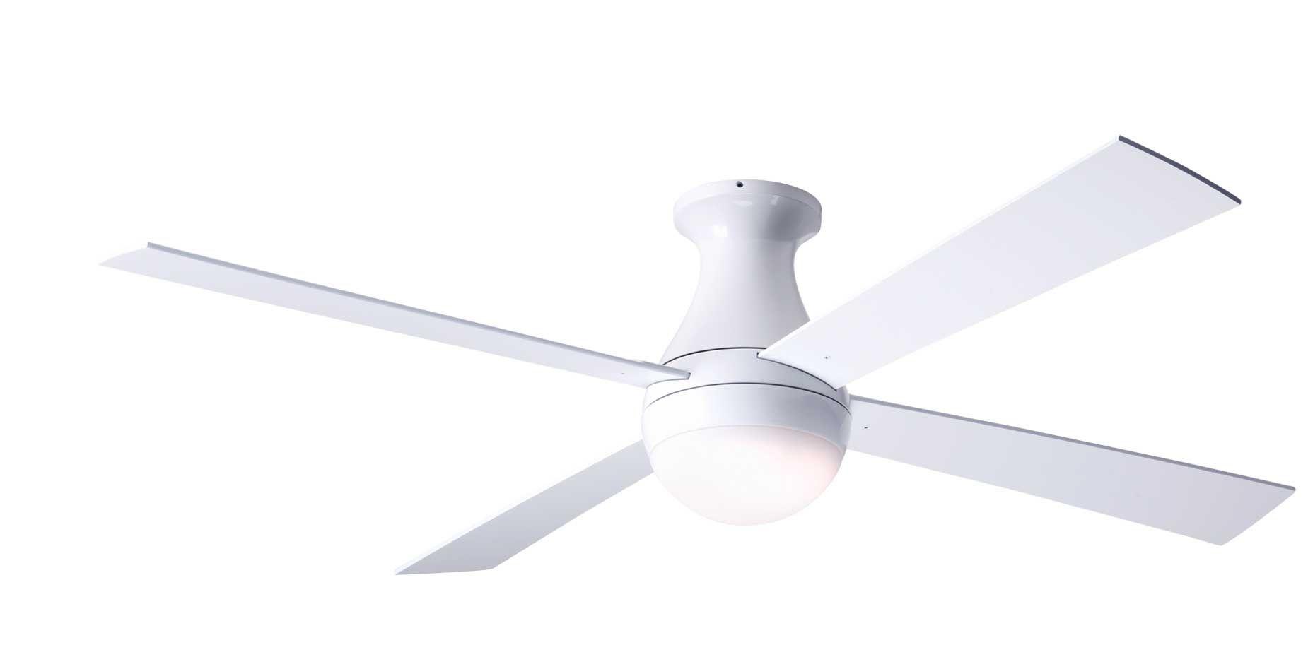 Modern Fan Company Ball Flush Mount Ceiling Fan