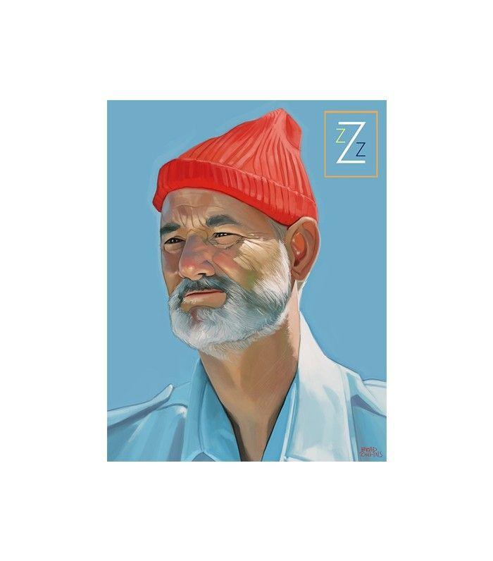 Steve Zissou Print