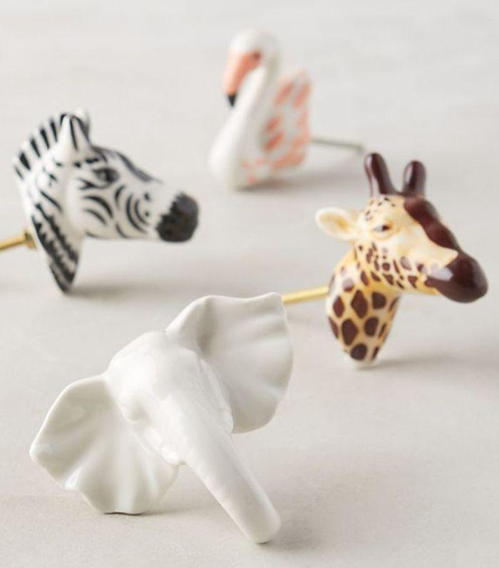 Ceramic Safari Knob