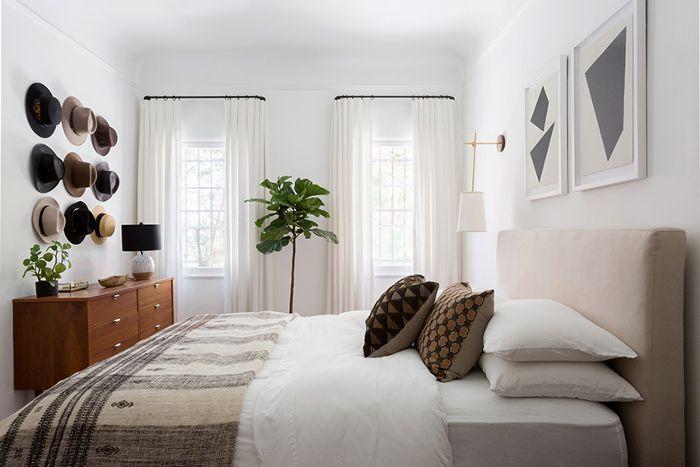 dormitorio principal moderno de California