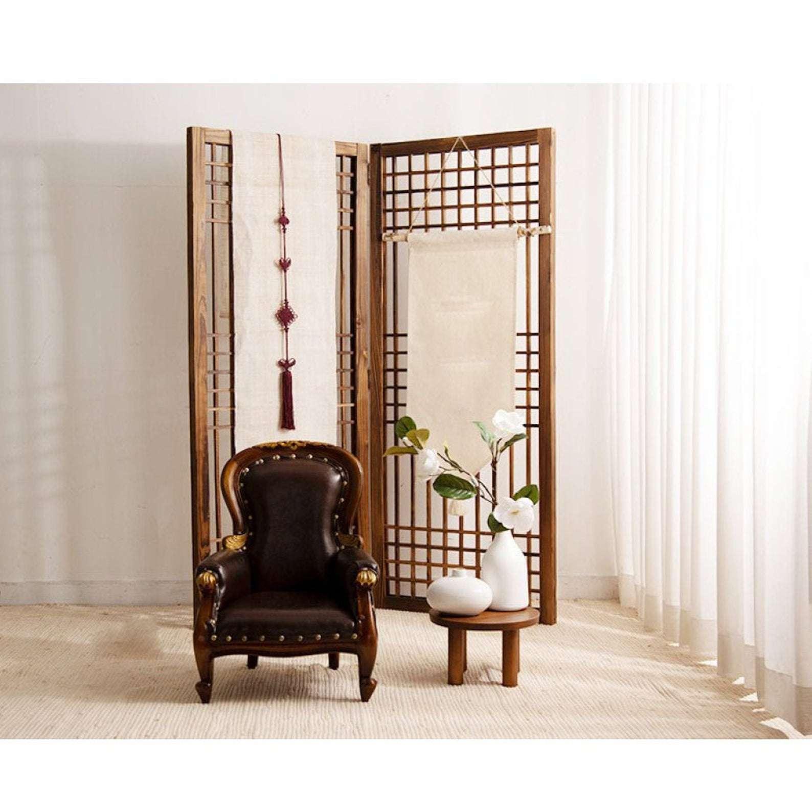 Traditional Korean Folding Screen