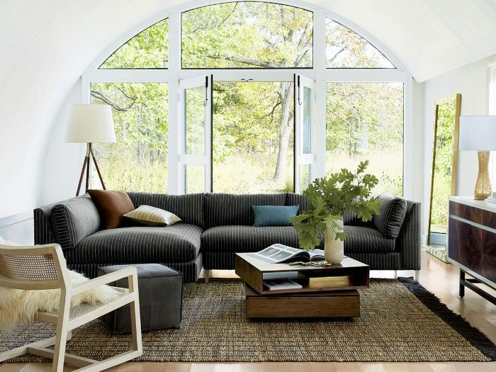 The 11 Best Gray Sectional Sofas to Invest in Right Now