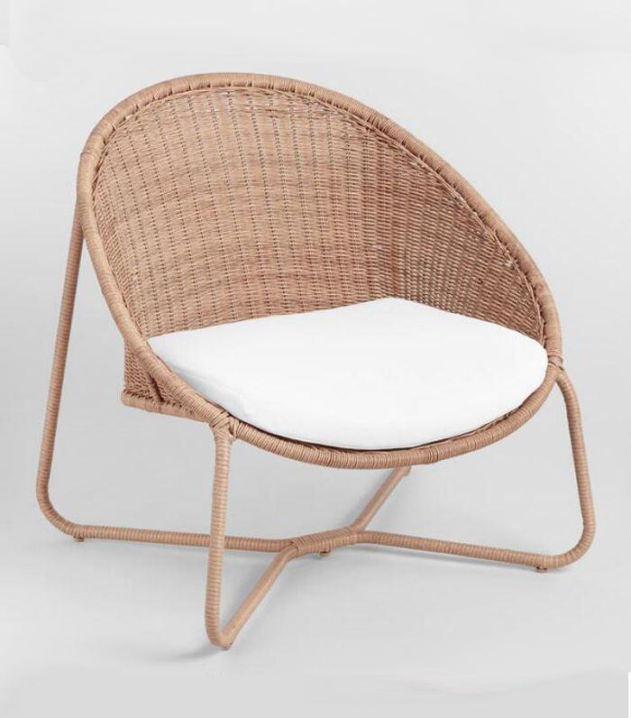 Natural All Weather Wicker Samoa Outdoor Patio Egg Chair - Resin by World Market
